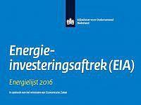 Energie Investeringsaftrek (EIA)